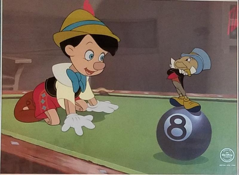Behind the Eight Ball - Disney